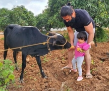 'K.G.F' star Yash has family time in the farmhouse