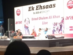 Ghulam Ali sings in capital for a cause