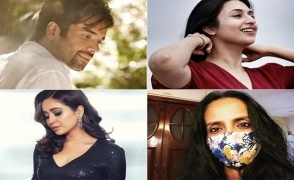TV stars on freedom in the time of lockdown and social distancing