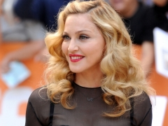 Madonna's new beau gels well with her son