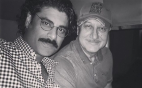 Sikandar enjoys making videos with dad Anupam Kher