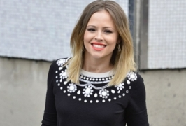 Kimberley Walsh relaxed about baby birth