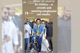 Anushka Sharma reminisces of the time she could go out wearing shades, not masks