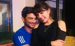 Rhea Chakraborty pens moving note for Sushant Singh Rajput