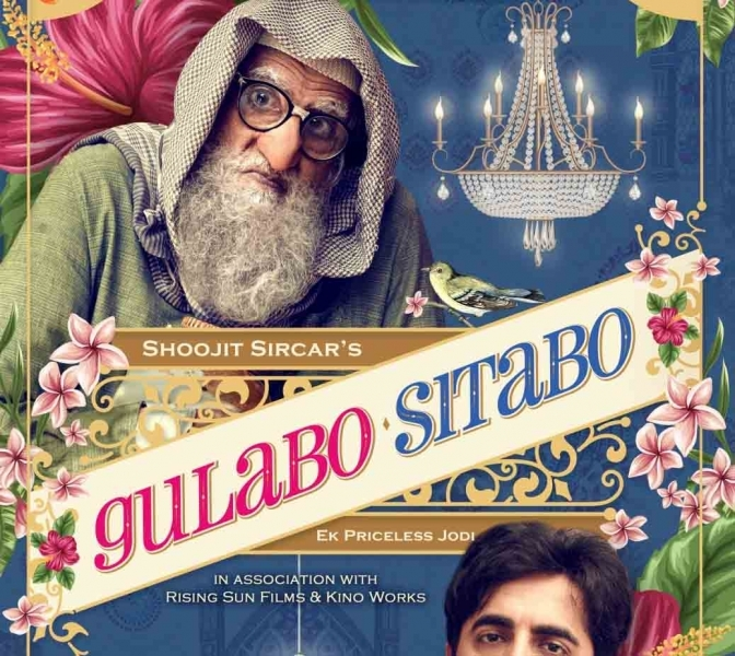 'Gulabo Sitabo' song titled 'Jootam phenk' sung by Piyush Mishra
