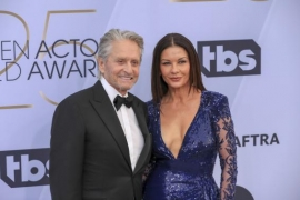 Catherine Zeta-Jones snaps at her family a lot