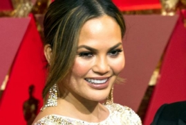 Chrissy Teigen binge-watches amid quarantine