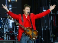 Paul Mccartney campaigns for meat-free Mondays