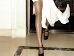 Dare to bare toned legs with thigh high slits