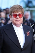 Elton John relishes quality time with husband