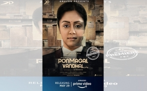 'Ponmagal Vandhal' is mediocre melodrama (IANS Review; Rating: * * )