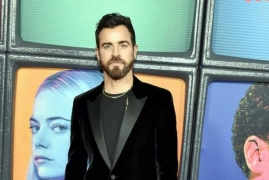 Justin Theroux's romantic dinner with his ladylove
