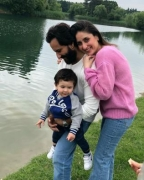 Kareena Kapoor reveals Saif and Taimur are all that she ever needs