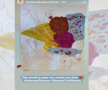 Kareena shares 'in-house Picasso' Taimur's drawing