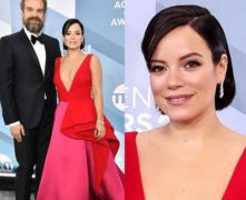 Lily Allen marries 'Stranger Things' star David Harbour
