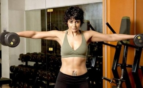 Post '24', Mandira gorges on sweets