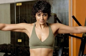 Weight gain disappoints Mandira