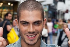 Max George wants a puppy as X-Mas gift