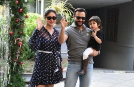 Netizens troll prime time journalist for asking Taimur to give a flying kiss
