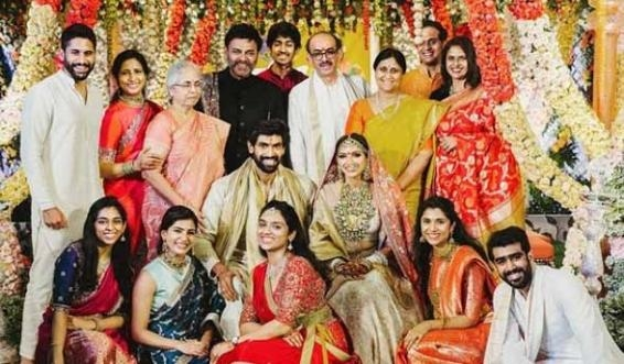 Rana Daggubati-Miheeka Bajaj wedding : Celebs pour in wishes for newlyweds
