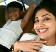 Shilpa Shetty posts birthday wishes and prayers for son