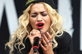 Rita Ora was once scared by fan