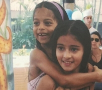 Suhana Khan gets a 'nostalgic' b'day wish from buddy Ananya Panday