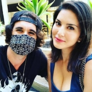 Sunny Leone's afternoon date with hubby Daniel