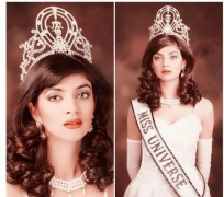 Sushmita Sen completes 26 years of Miss Universe win