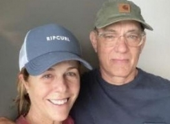 Tom Hanks, wife back in US after COVID-19 battle