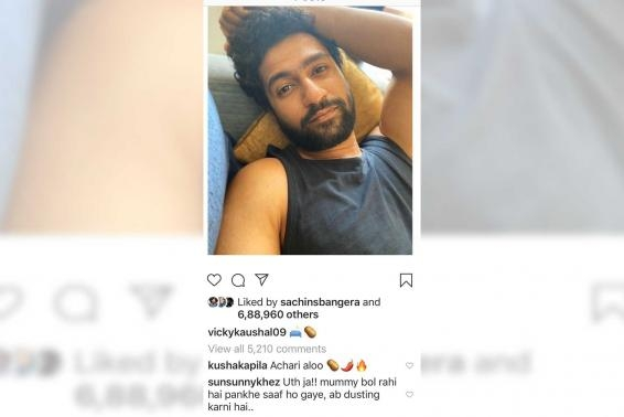 Vicky Kaushal's lazy selfie draws hilarious response from brother Sunny